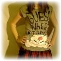 Spódniczka emo bluzka