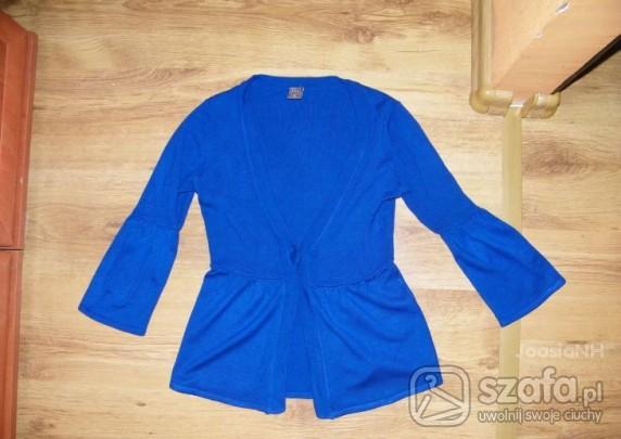Swetry śliczny kobaltowy sweterek