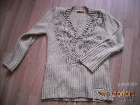 Swetry sweter tunika