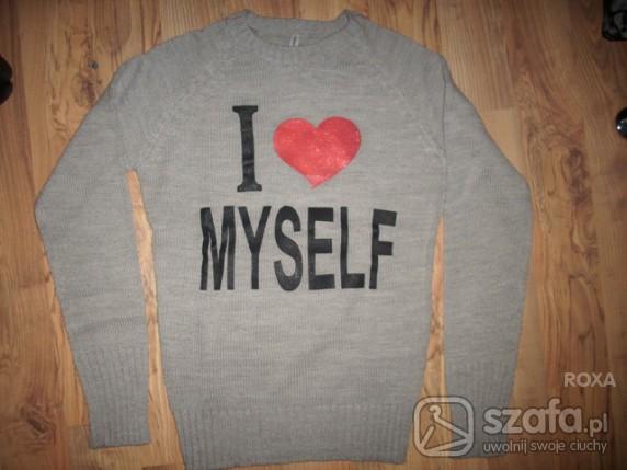 Swetry sweterek I LOVE MYSELF TERRANOVA