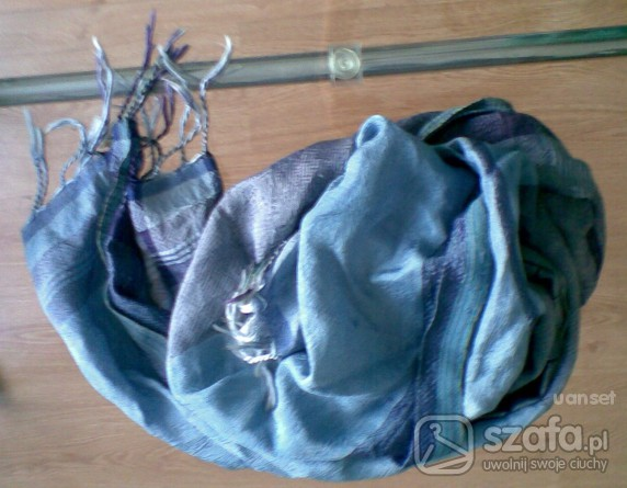 Chusty i apaszki niebieska apaska