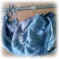 niebieska apaska