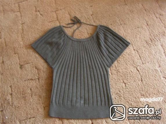 Swetry Sweter bluzeczka rekawy nietoperz