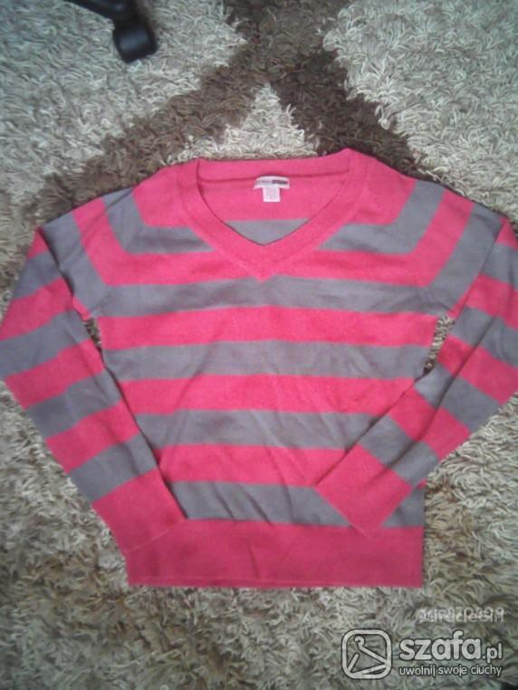 Swetry Śliczny sweterek w paski