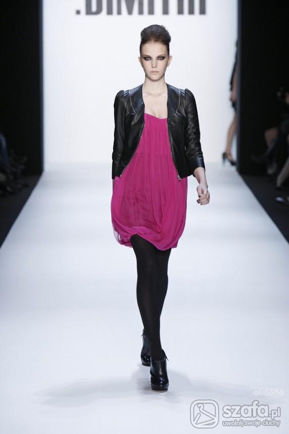 Eleganckie śliczna różowa tuniczka