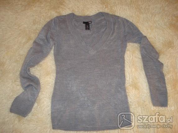Swetry Śliczny ciepły sweterek HM