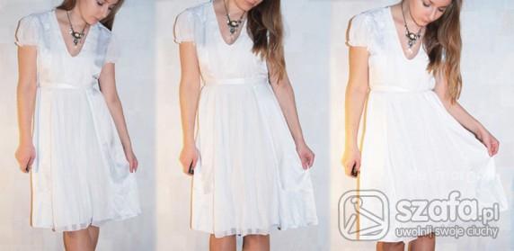 Romantyczne biała sukienka Vila