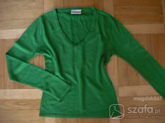 Swetry Zielony sweterek Todays Woman