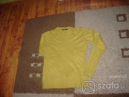 Swetry jasno zielony sweterek