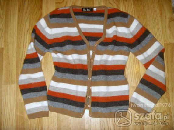 Swetry ANGORKA L ROZPINANY BLEZEREK