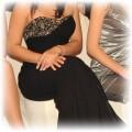 Elegancka i seksowna suknia