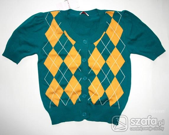 Swetry Morski sweterek z krótkim rękawem ORSAY nowy