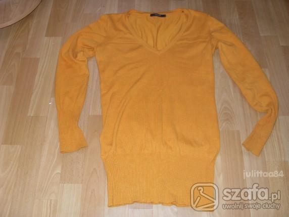 Swetry Miodowy long Vero Moda S