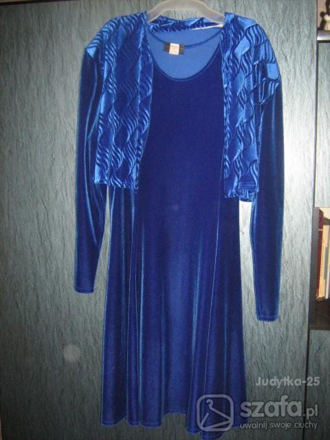 Eleganckie Sukienka z bolerkiem