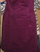 sukienka fiolet...
