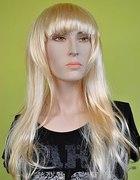 Peruka blond długie włosy az 60cm najtaniej