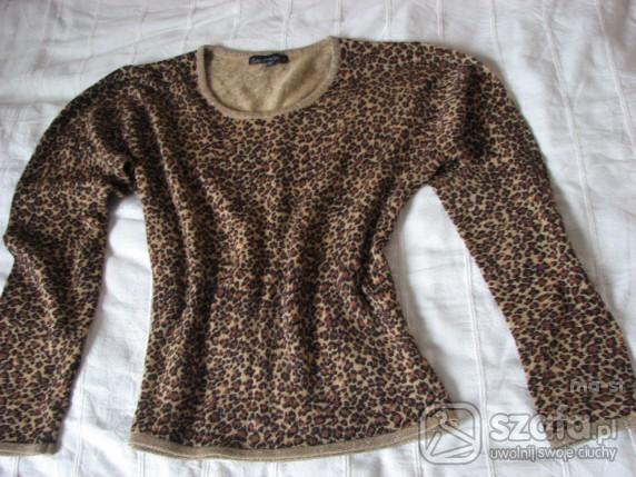 Swetry Brązowa panterka