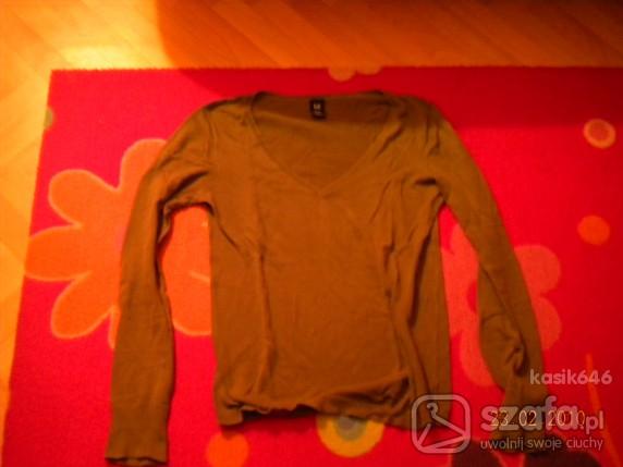 Swetry Zielony piekny sweterek