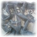 apaszka chusta koronkowa w kwiaty