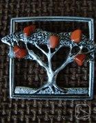 broszka drzewko