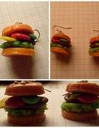 Kolczyki Hamburgery...
