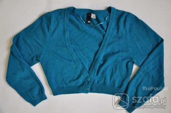Swetry morski krotki sweterek HandM jak NOWY