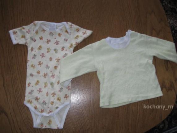 Komplety body i koszulka dla malucha