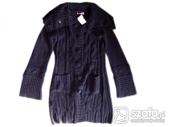 Swetry kardigran tunika nowy