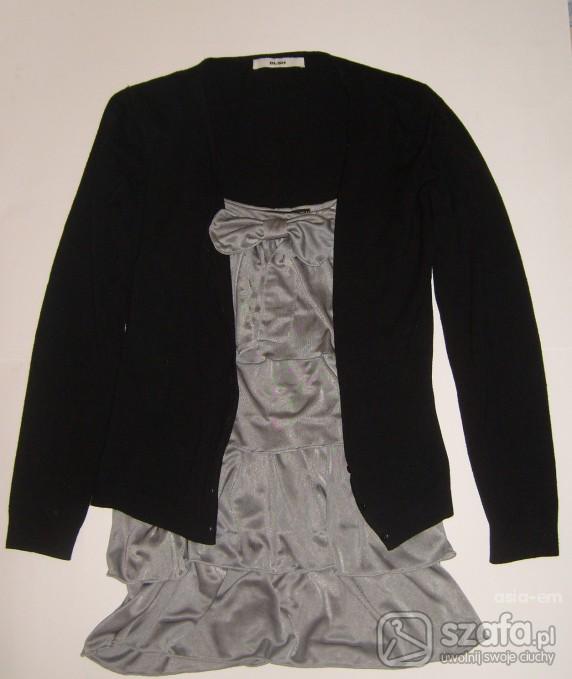 Swetry czarny sweterek