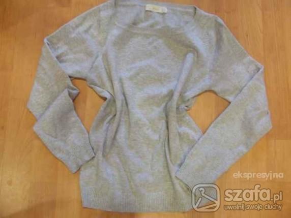 Swetry Szary na wiosnę Zara