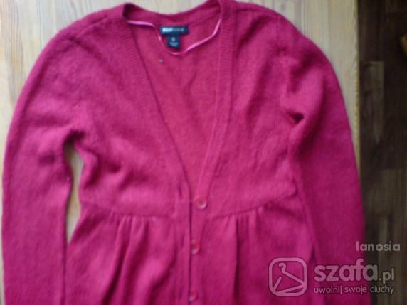 Swetry MALINOWY ROZPINANY H M