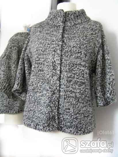 Swetry Milutki sweterek sól z pieprzem