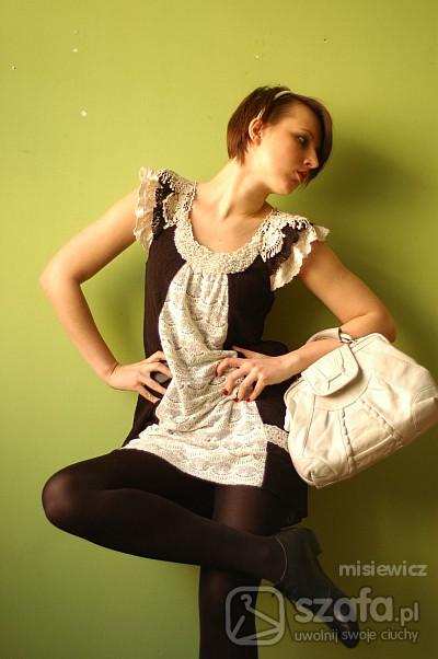 Mój styl koronki i perły
