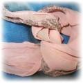 Śliczna różowa apaszka