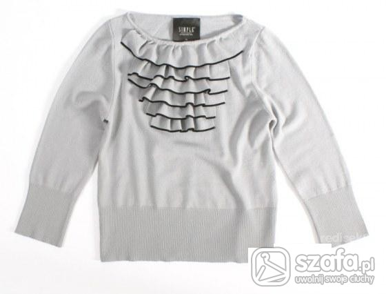 Swetry SIMPLE eksluzywny sweter kolekcja ZIMA 2009 2010