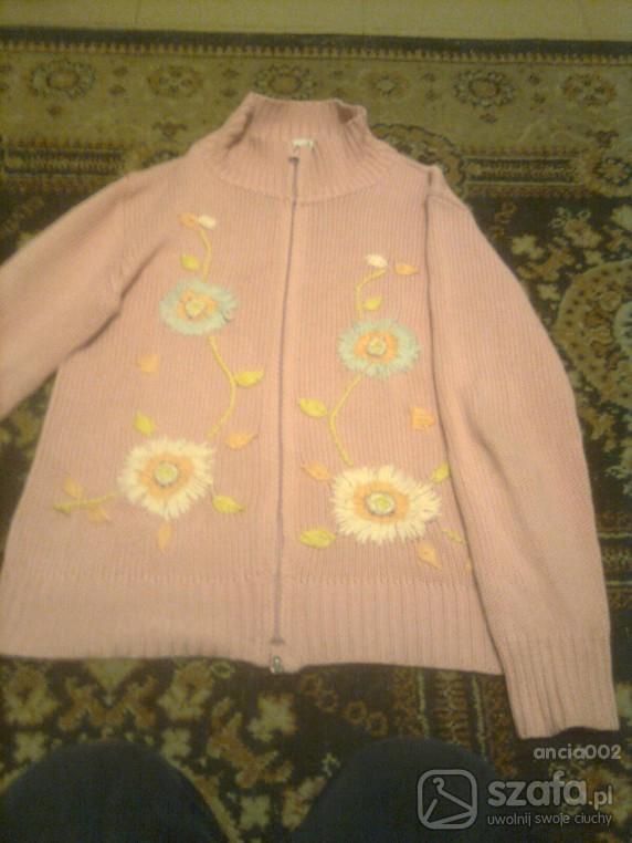 Swetry Rozowy sweterek