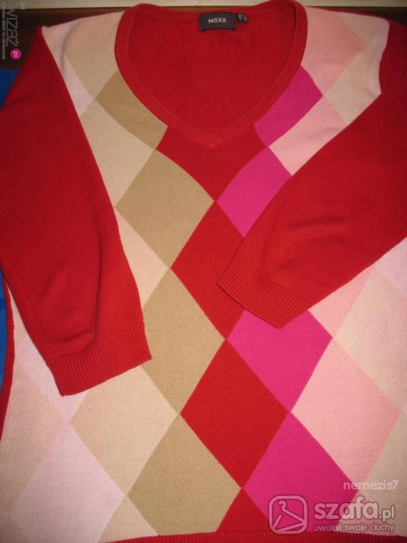 Swetry sweter mexx w romby L