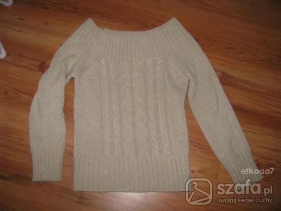 Swetry swietny ze zlota nitka L