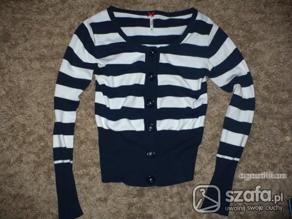 Swetry marynarski