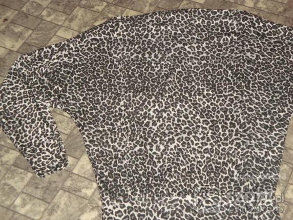Swetry super sweterek w panterke 25zł