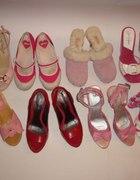Kilka innych różowych par butów z mojej szafy