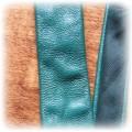 Krawat skórzany