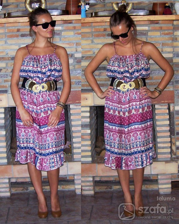 Mój styl sukienka mojej mamuśki