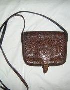 vintage torebka na długim pasku