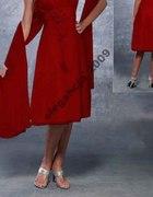 Bordo sukienka