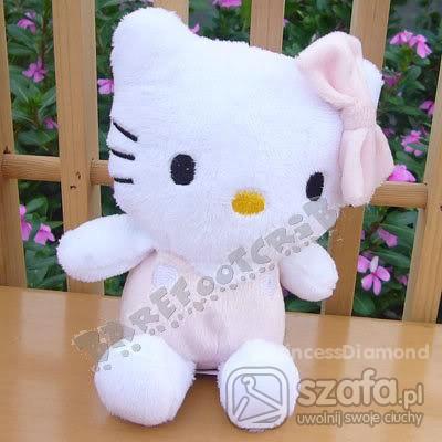 Zabawki Śliczny Kotek HELLO KITTY Jasno Różowy