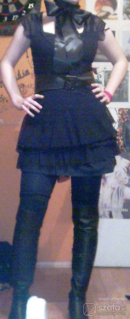 Imprezowe na czarno almost gothic lolita
