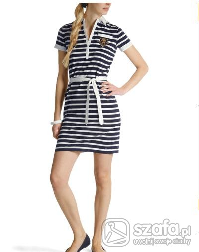 sukienka styl marynarski TOMMY HILFIGER