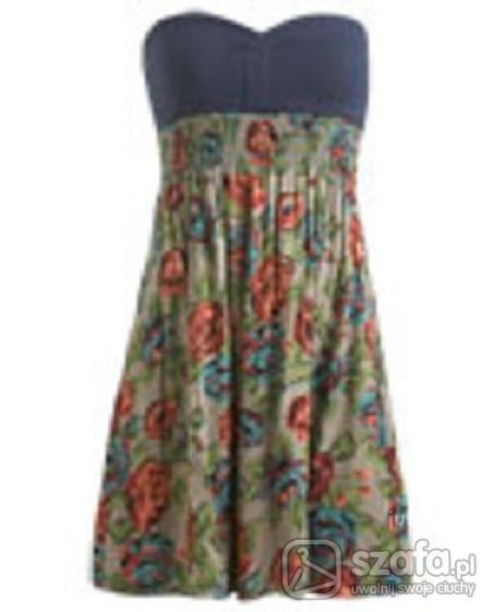 Romantyczne letnia sukienka
