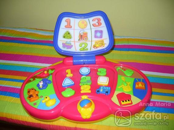 Zabawki laptop kiddieland